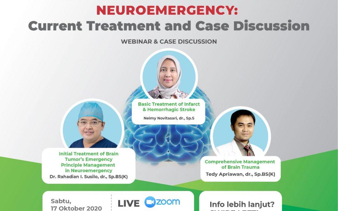 "Materi Neuroemergency Webinar and Case Discussion ""Cause Time Saving is Brain Saving"""
